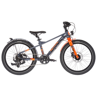 "Vélo de Ville S'COOL XXLITE EVO DISC Alu 7V 20"" Gris/Orange 2021"